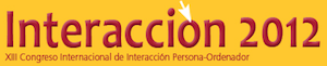 13th International Conference on Interaccion Persona-Ordenador